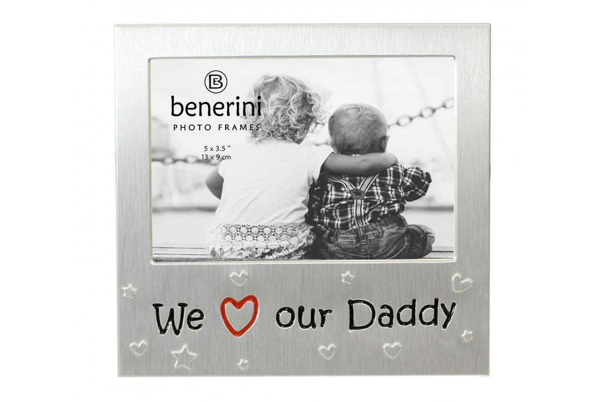 We Love Our Daddy Photo Picture Frame Gift Present| benerini