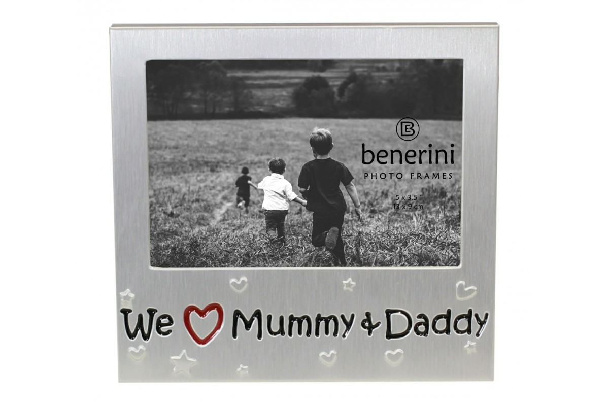 We Love Our Mummy Daddy Photo Frame Gift Idea Benerini