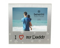 "I Love My Daddy Photo Frame - 5 x 3.5"" (13 x 9 cm)"