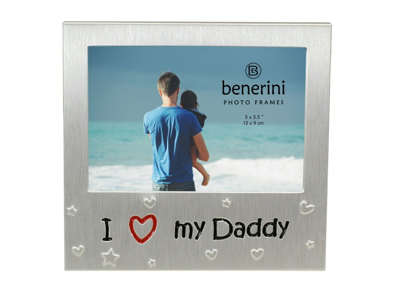 I Love My Daddy Photo Picture Frame Gift Present Benerini
