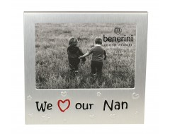 "We Love Our Nan Photo Frame - 5 x 3.5"" (13 x 9 cm)"
