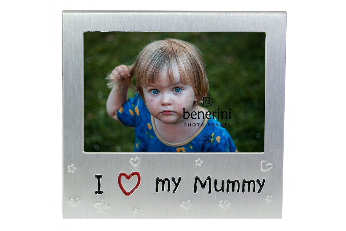 I Love My Mummy Photo Picture Frame Gift Present Benerini