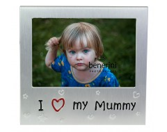 "I Love My Mummy Photo Frame - 5 x 3.5"" (13 x 9 cm)"