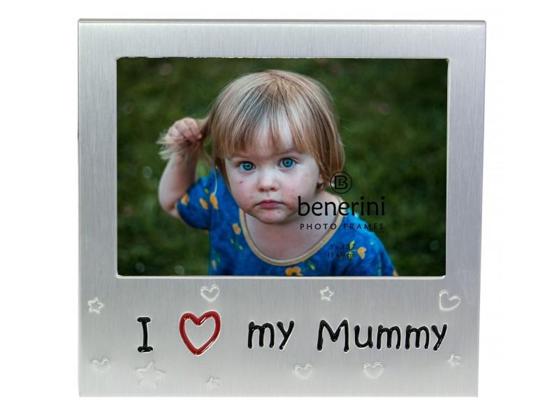 """I Love My Mummy Photo Frame - 5 x 3.5"""" (13 x 9 cm)"""