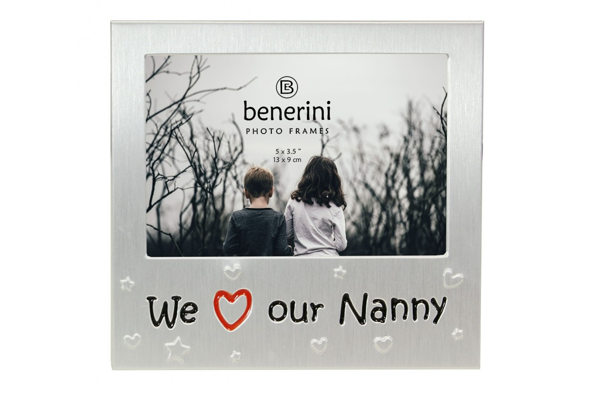 We Love Our Nanny Photo Frame Gift Present| benerini