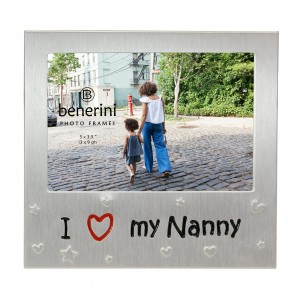 "I Love My Nanny Photo Frame - 5 x 3.5"" (13 x 9 cm)"