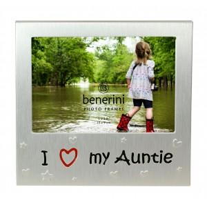 """I Love My Auntie Photo Frame - 5 x 3.5"""" (13 x 9 cm)"""