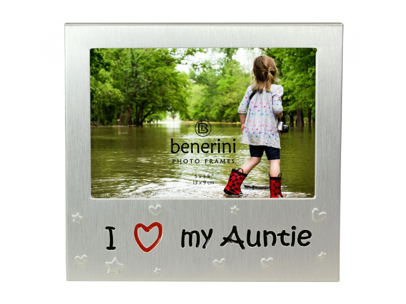 "I Love My Auntie Photo Frame - 5 x 3.5"" (13 x 9 cm)"