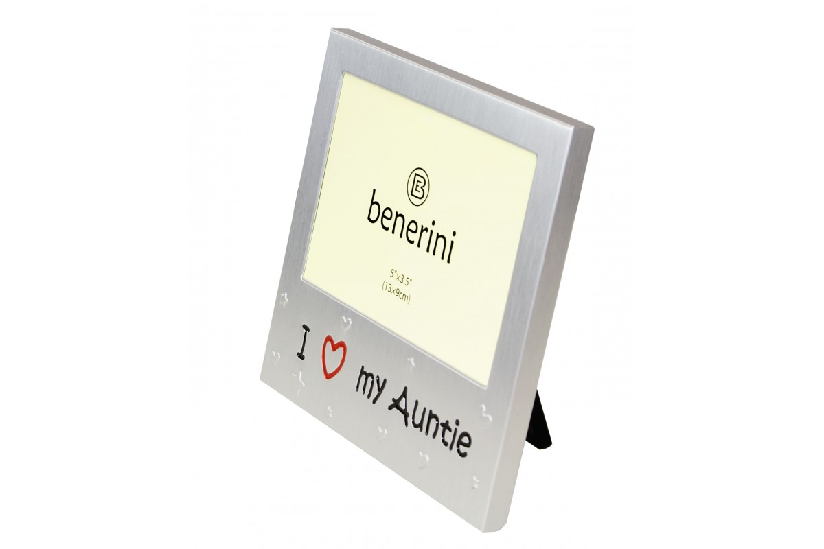 I Love My Auntie Photo Picture Frame Gift Present Benerini
