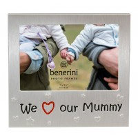 "We Love Our Mummy Photo Frame - 5 x 3.5"" (13 x 9 cm)"