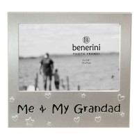"Me & My Grandad   Photo Frame - 5 x 3.5"" (13 x 9 cm)"