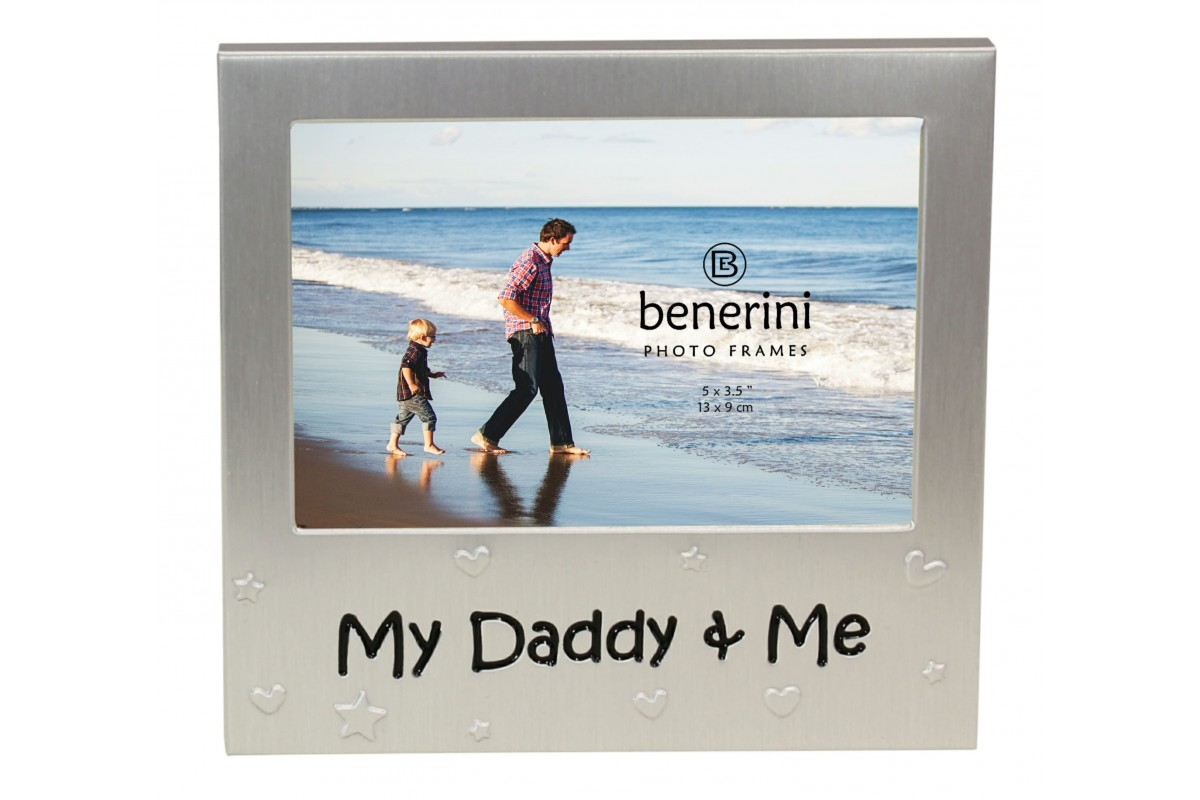 My Daddy Me Photo Picture Frame Gift Idea Benerini
