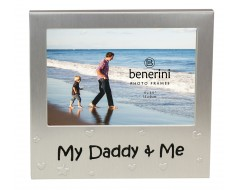 "My Daddy & Me Photo Frame - 5 x 3.5"" (13 x 9 cm)"