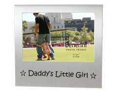 "Daddys Little Girl Photo Frame - 5 x 3.5"" (13 x 9 cm)"