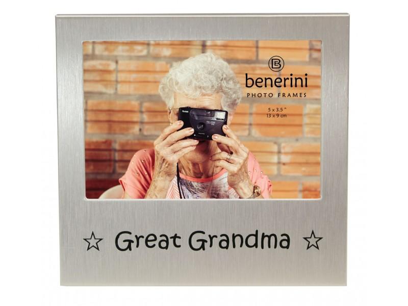 "Great Grandma Photo Frame - 5 x 3.5"" (13 x 9 cm)"