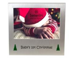 "Babys 1st Christmas Photo Frame - 5 x 3.5"" (13 x 9 cm)"