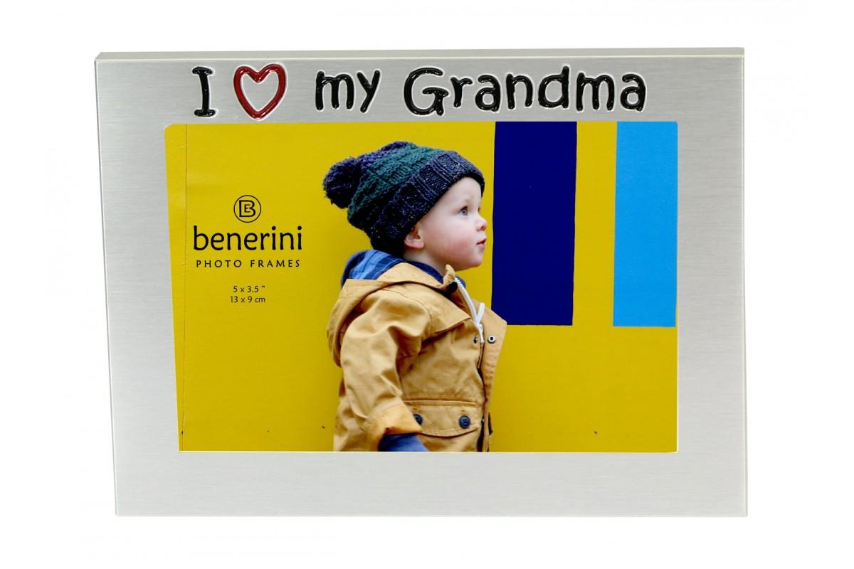 I Love My Grandma Photo Picture Frame Gift Present Benerini