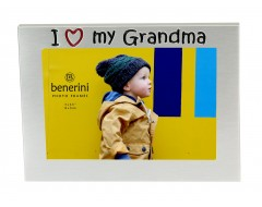 "I Love My Grandma Photo Frame - 5 x 3.5"" (13 x 9 cm)"