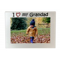 "I Love My Grandad Photo Frame - 5 x 3.5"" (13 x 9 cm)"