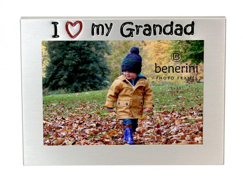 "I Love My Grandad Photo Frame - 5 x 3.5"" (13 x 9 cm)"