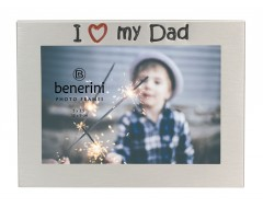 "I Love My Dad Photo Frame - 5 x 3.5"" (13 x 9 cm)"