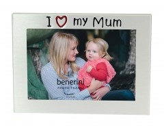 "I Love My Mum Photo Frame - 5 x 3.5"" (13 x 9 cm)"
