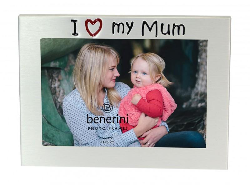 """I Love My Mum Photo Frame - 5 x 3.5"""" (13 x 9 cm)"""