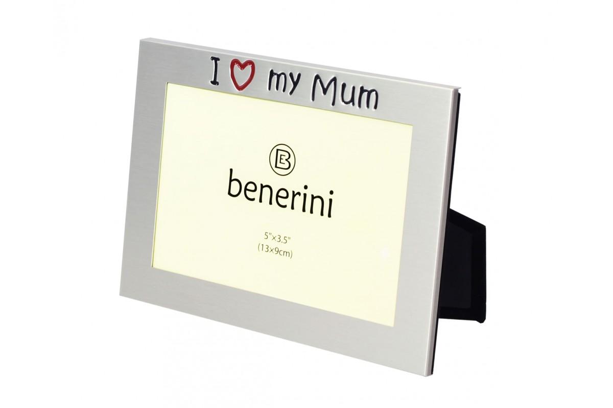 I Love My Mum Photo Frame Unique Present   benerini