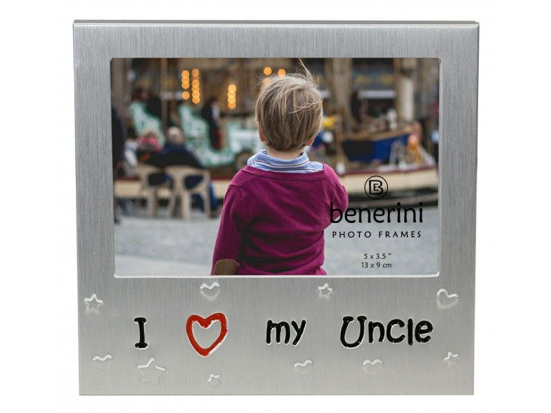 "I Love My Uncle Photo Frame - 5 x 3.5"" (13 x 9 cm)"