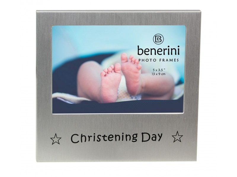 "Christening Day Photo Frame - 5 x 3.5"" (13 x 9 cm)"