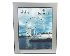 8 x 10 inches Plain Silver Colour Aluminium Photo Frame Gift Present - 041