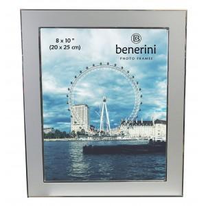 8 x 10 inches Plain Silver Colour Aluminium Photo Frame Gift Present - 041