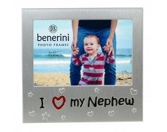 "I Love My Nephew Photo Frame - 5 x 3.5"" (13 x 9 cm)"