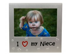 "I Love My Niece Photo Frame - 5 x 3.5"" (13 x 9 cm)"