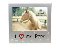 "I Love My Pony Photo Frame - 5 x 3.5"" (13 x 9 cm)"