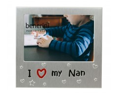 "I Love My Nan Photo Frame - 5 x 3.5"" (13 x 9 cm)"