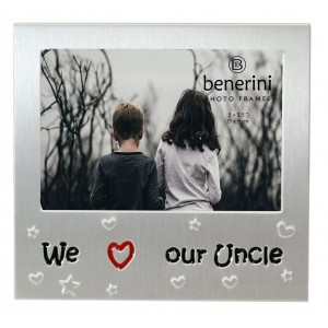 """We Love Our Uncle Photo Frame - 5 x 3.5"""" (13 x 9 cm)"""