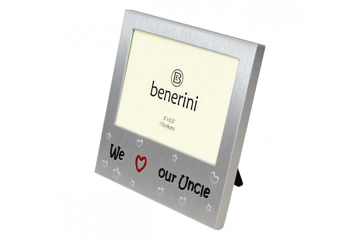 We Love Our Uncle Photo Frame Gift Idea | benerini