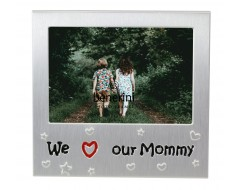 "We Love Our mommy Photo Frame - 5 x 3.5"" (13 x 9 cm)"