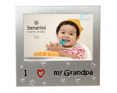 "I Love My Grandpa Photo Frame - 5 x 3.5"" (13 x 9 cm)"