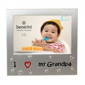 "I Love My Grandpa Photo Frame - 5 x 3.5"" (13 x 9 cm)"