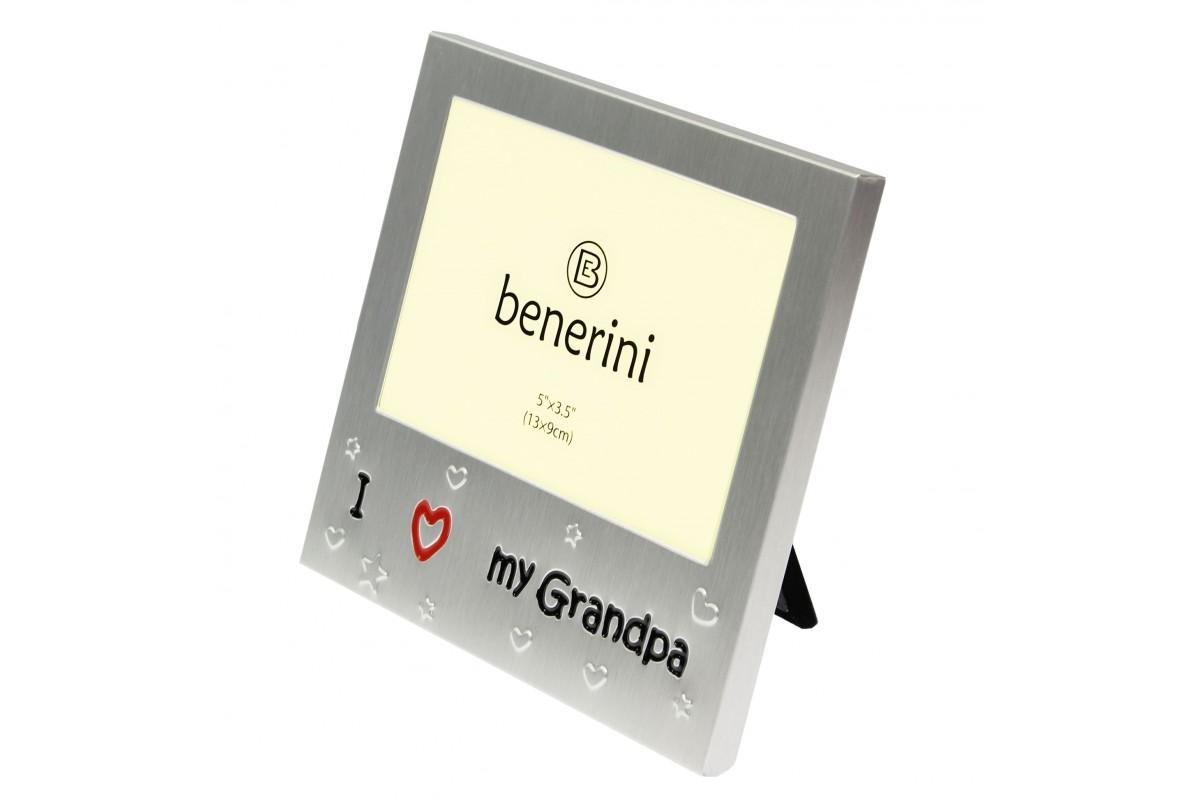 I Love Grandpa Photo Picture Frame Gift Idea | benerini