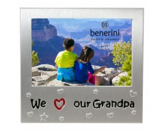 "We Love Our Grandpa Photo Frame - 5 x 3.5"" (13 x 9 cm)"