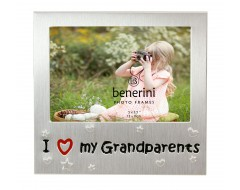 "I Love My Grandparents Photo Frame - 5 x 3.5"" (13 x 9 cm)"