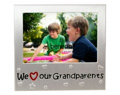 "We Love Our Grandparents Photo Frame - 5 x 3.5"" (13 x 9 cm)"