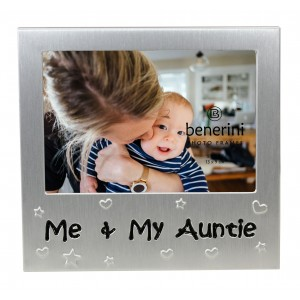 "Me and My Auntie Photo Frame - 5 x 3.5"" (13 x 9 cm)"