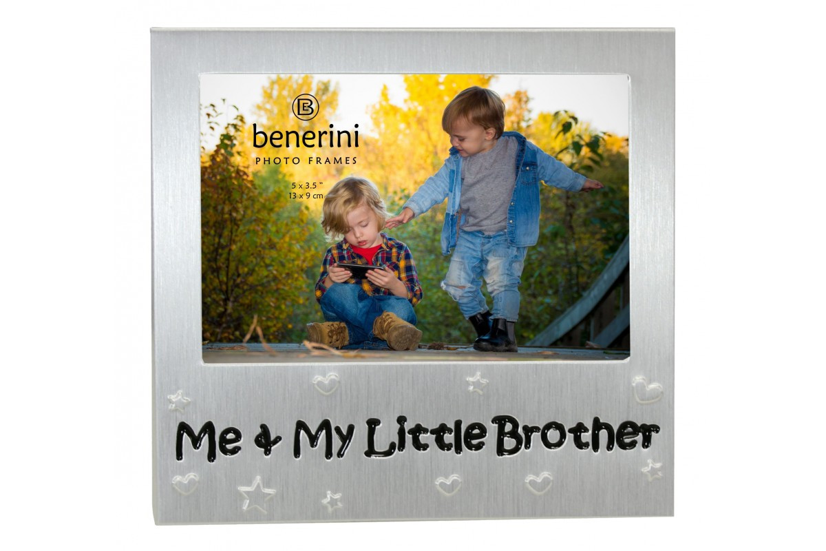 Me And My Little Brother Photo Frame Gift Idea Benerini