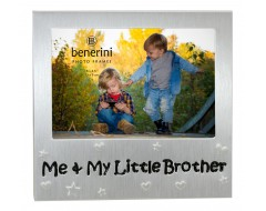 "Me and My Little Brother Photo Frame - 5 x 3.5"" (13 x 9 cm)"