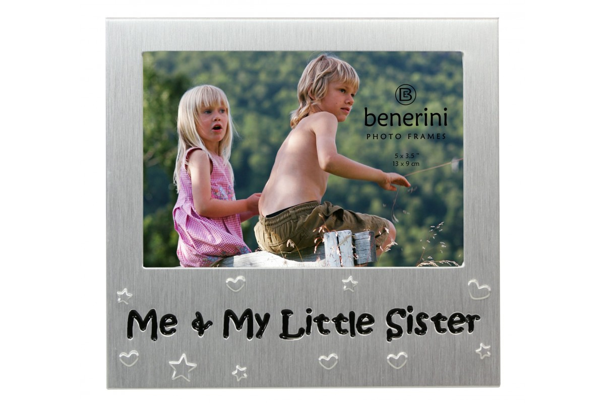 Me And My Little Sister Photo Frame Gift Idea Benerini