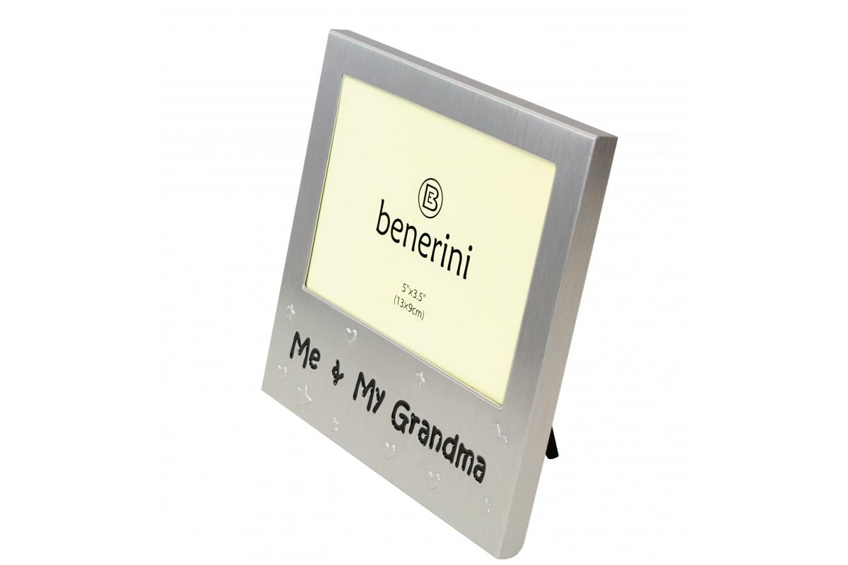 Me & My Grandma Unique Photo Frame Present | benerini